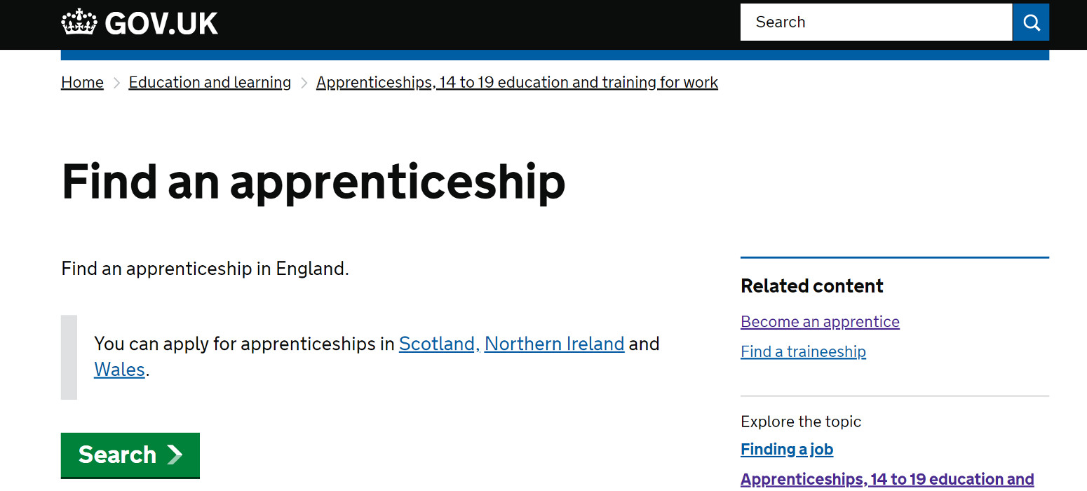 Apprenticeship Job Find A Degree Apprenticeship Office For Students