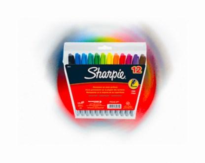 Sharpie Marker Fine Astd Pk12 #stationerygibraltar