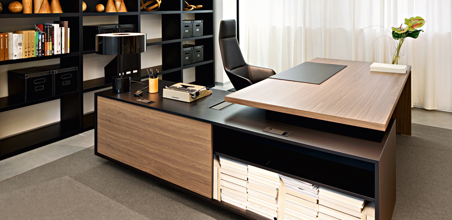Interior Büromöbel Executive Office Desk Report By Sinetica, L Shape