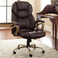 Dark Office Chairs For Big Guys | Office Furniture
