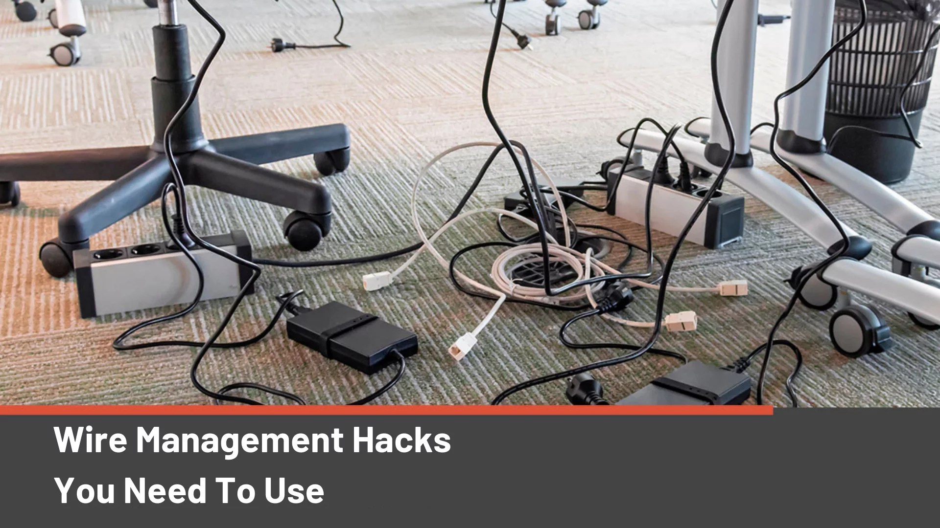 Wire Management 9 Wire Management Hacks You Should Be Using 2019 Edition