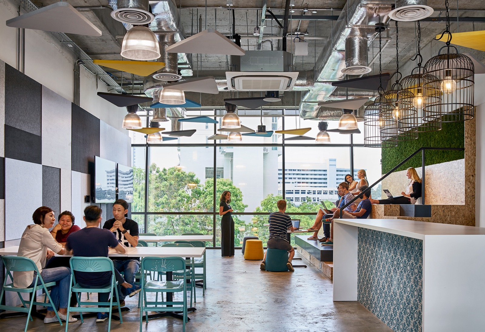 Design Firms In Singapore Inside Transferwise S Cool Singapore Office Officelovin