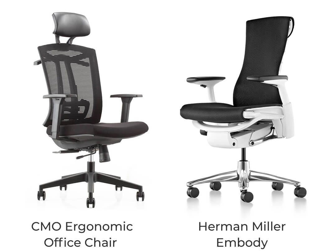 Most Ergonomic Office Chair 4 Quality Herman Miller Alternatives That Are Also Cheap
