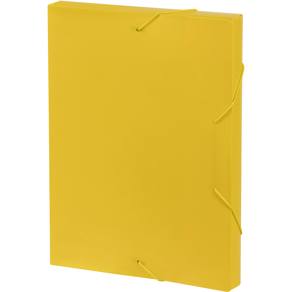 Office Supplies Caloundra Marbig Document Box A4 Yellow Office National