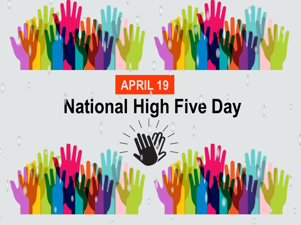 National High-Five Day - OffiCenters - Innovative Office, CoWorking