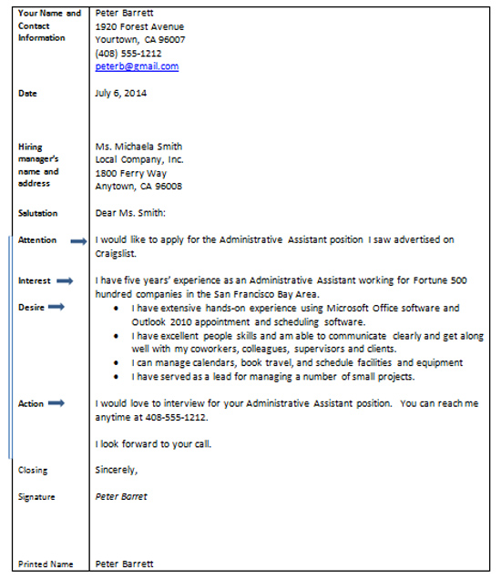 Cover Letters - Learn how to Write an Effective Cover Letter - cover letter attention to
