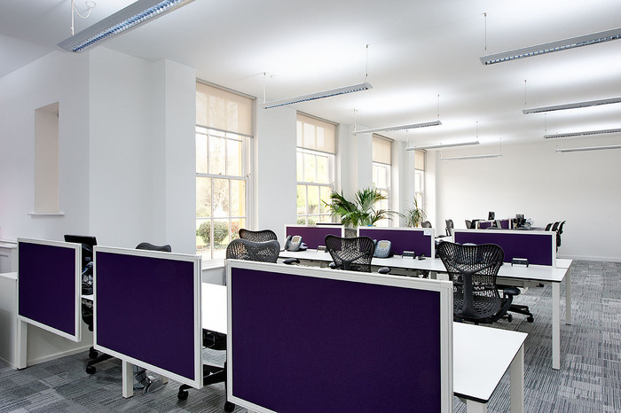 Inspiration Offices Clad In Purple, The Color of Royalty - Office