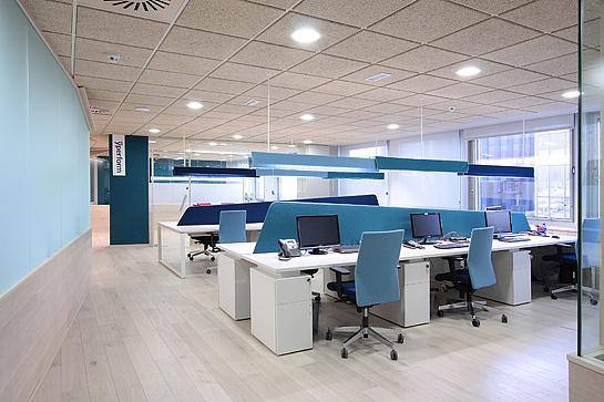 blue office - Towerssconstruction
