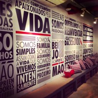 Corporate Values Wall on Pinterest | Corporate Offices ...