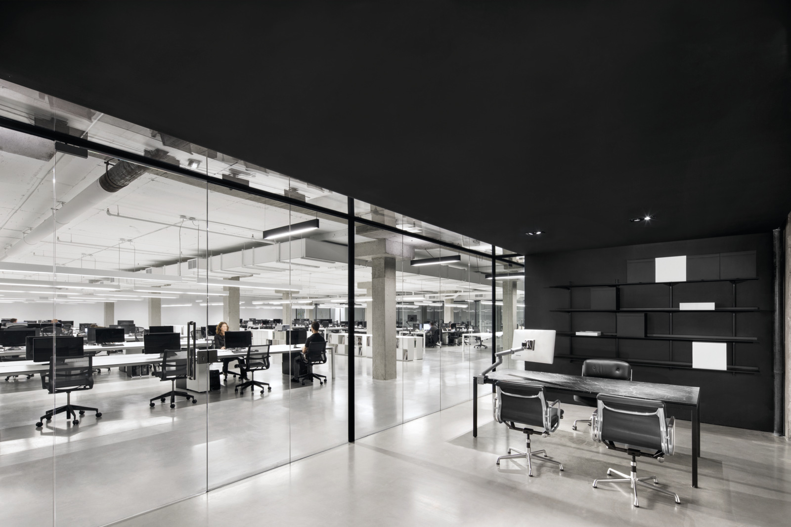 Lighting Stores In Montreal Ssense Montreal Offices Office Snapshots