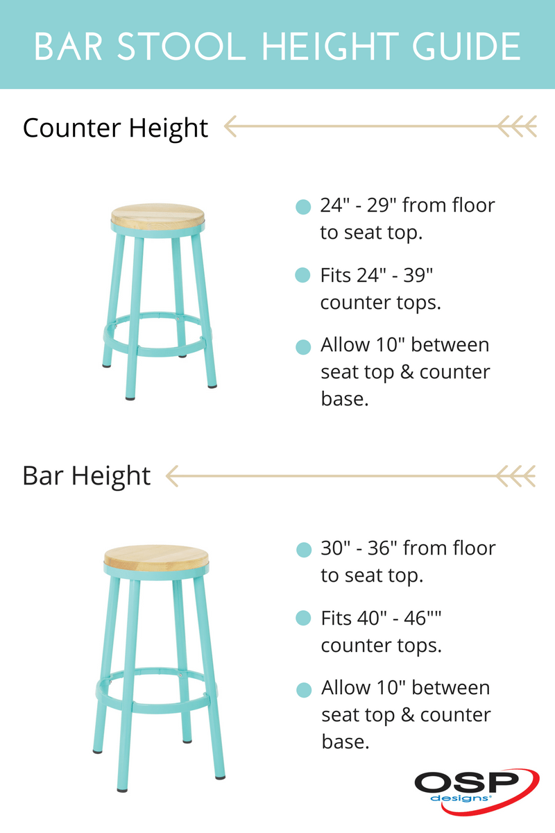 Bar Stool Height How To Choose The Perfect Bar Stool