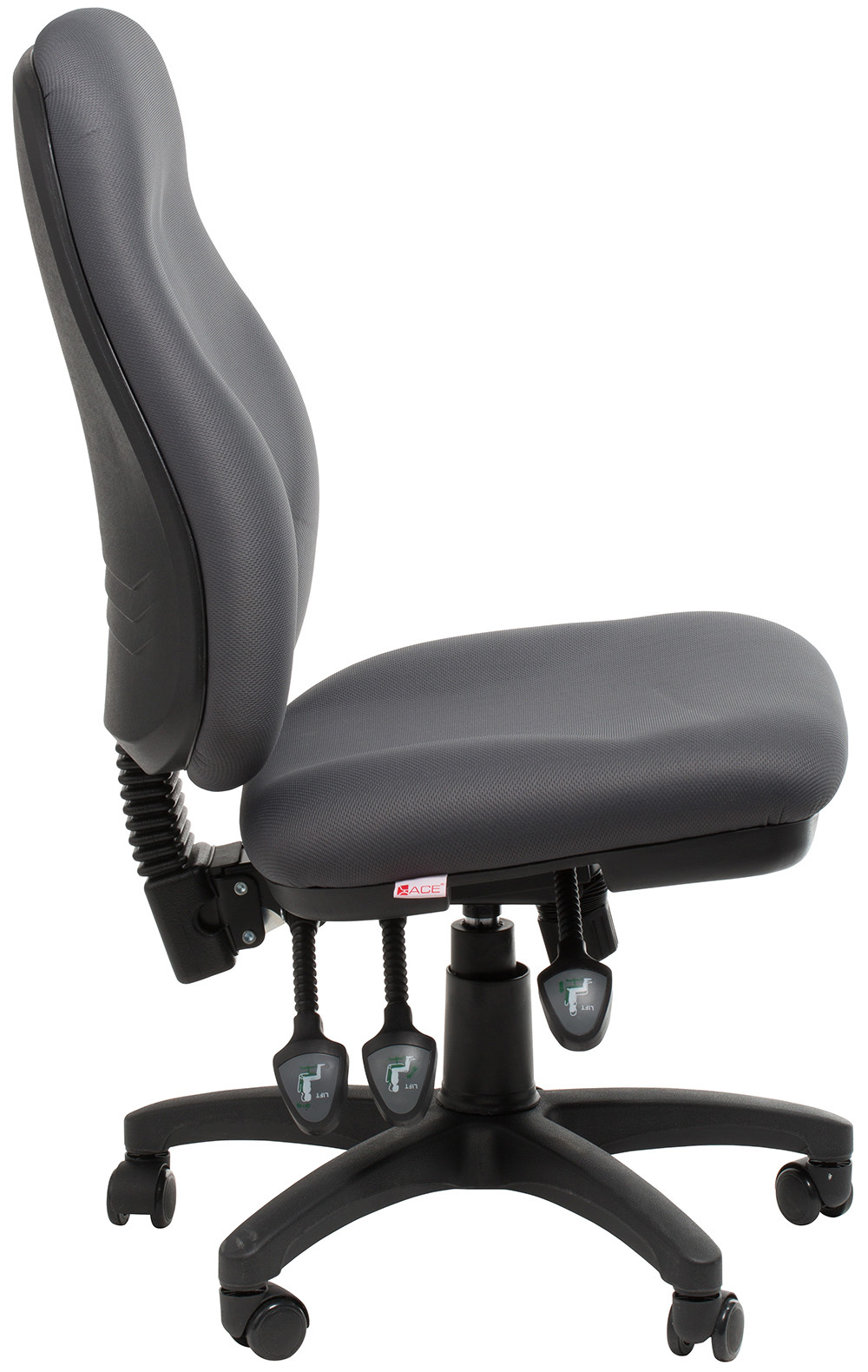 Office Chairs Canberra Sydney Black Ergonomic Commercial Office Chair Office Stock