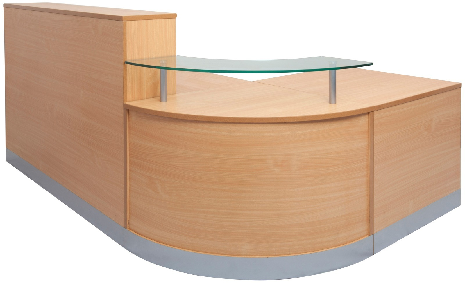 Reception Furniture Flow Reception Desk Counter Office Stock