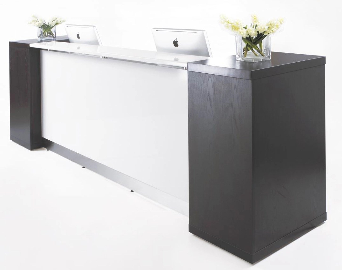 Reception Furniture Aston Modem Reception Counter Office Stock