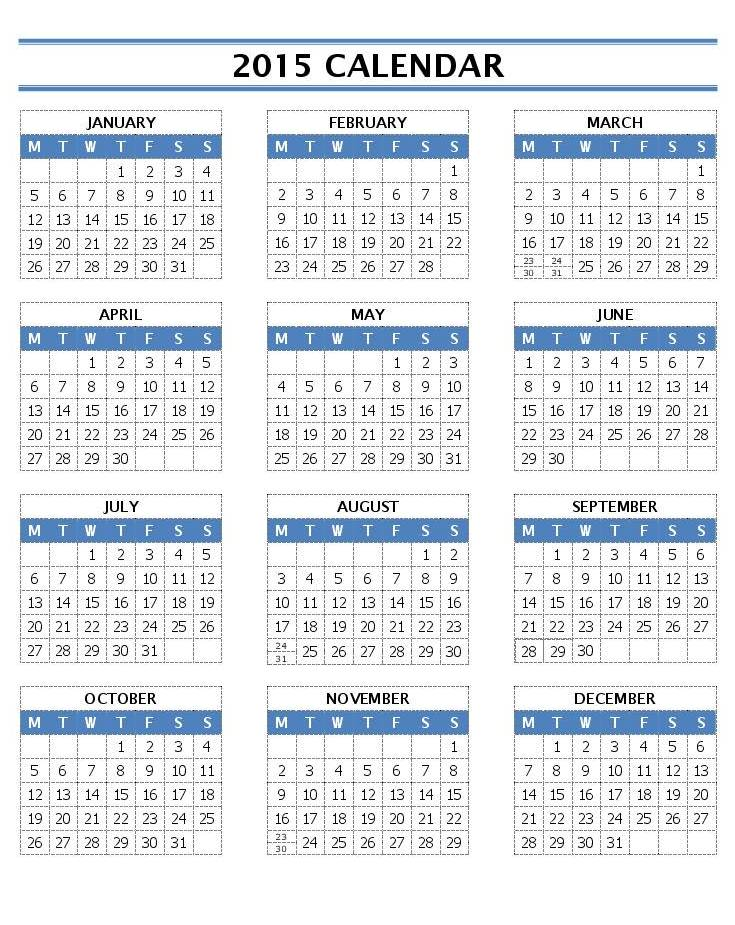 Monthly Calendar Word Template Node2002 Cvresumeasprovider