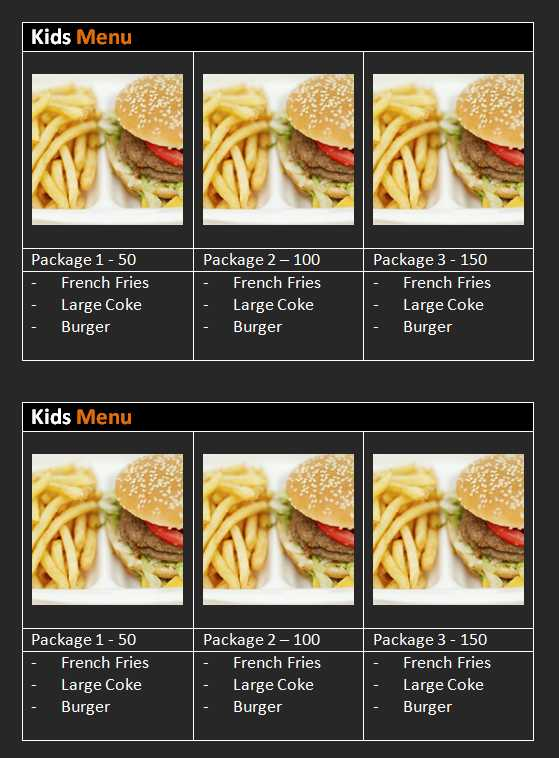 15 Free Restaurant and Cafe Menu Templates for Word Microsoft and