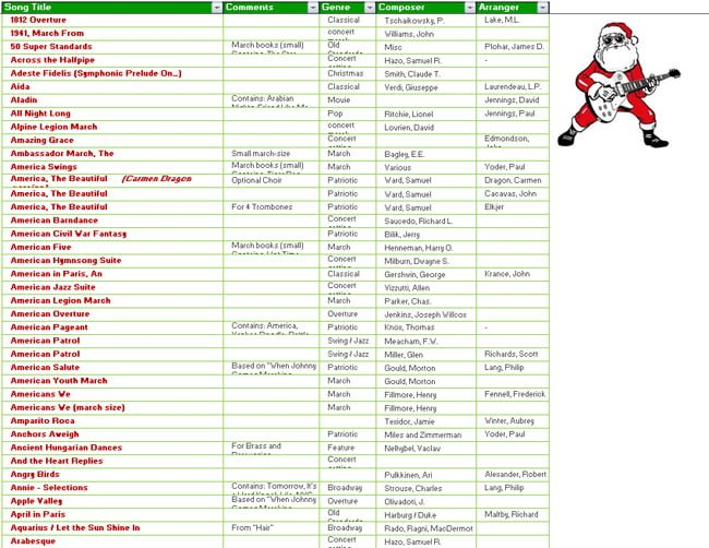 Christmas Shopping, Gift and To-Do List Templates in MS Excel - small sun template