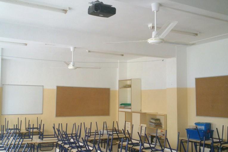 San Javier apuesta por la ventilación natural y ecológica en las aulas