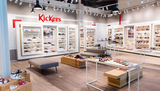 Salon Franchise Paris Kickers Dévoile Son Nouveau Concept De Magasin - L