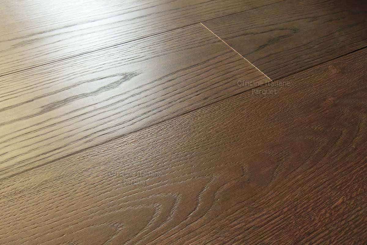 Parquet In Noce Parquet Rovere Noce Scuro 100 Made In Italy