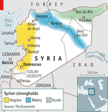 The state of Syria's civil war