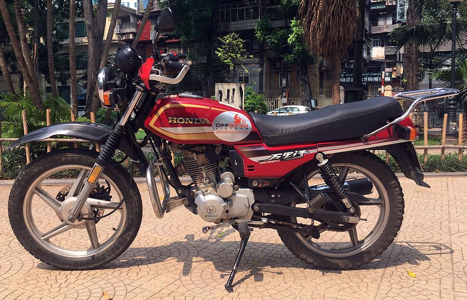 Honda CGL125 125cc For Rent In Hanoi - Offroad Vietnam Adventures