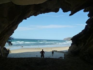 The cave at Umgazana