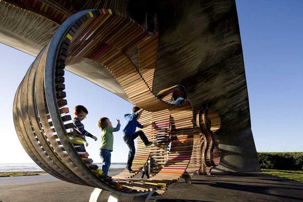 Public Space Design Longest Bench