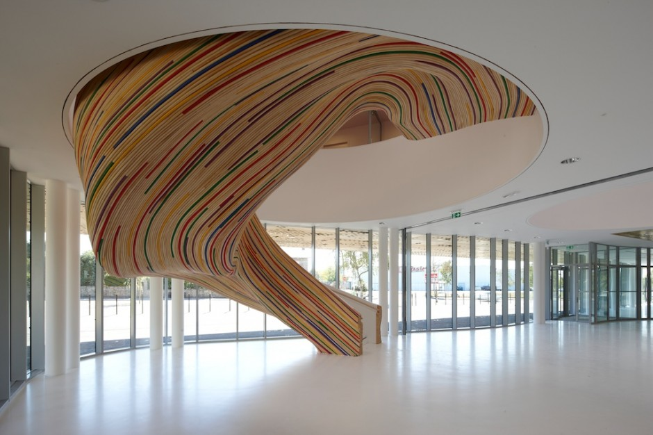 Amazing Staircase In School Of Arts France