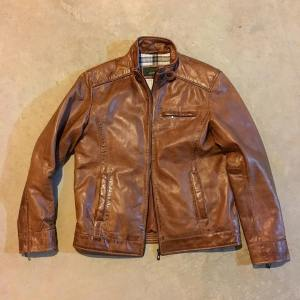 The hideparkleather Rik leather jacket is just the right blendhellip