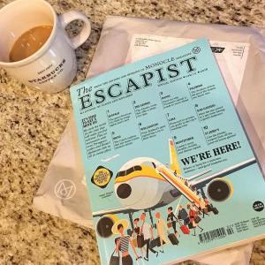 Settling into the new monoclemagazine escapist    hellip