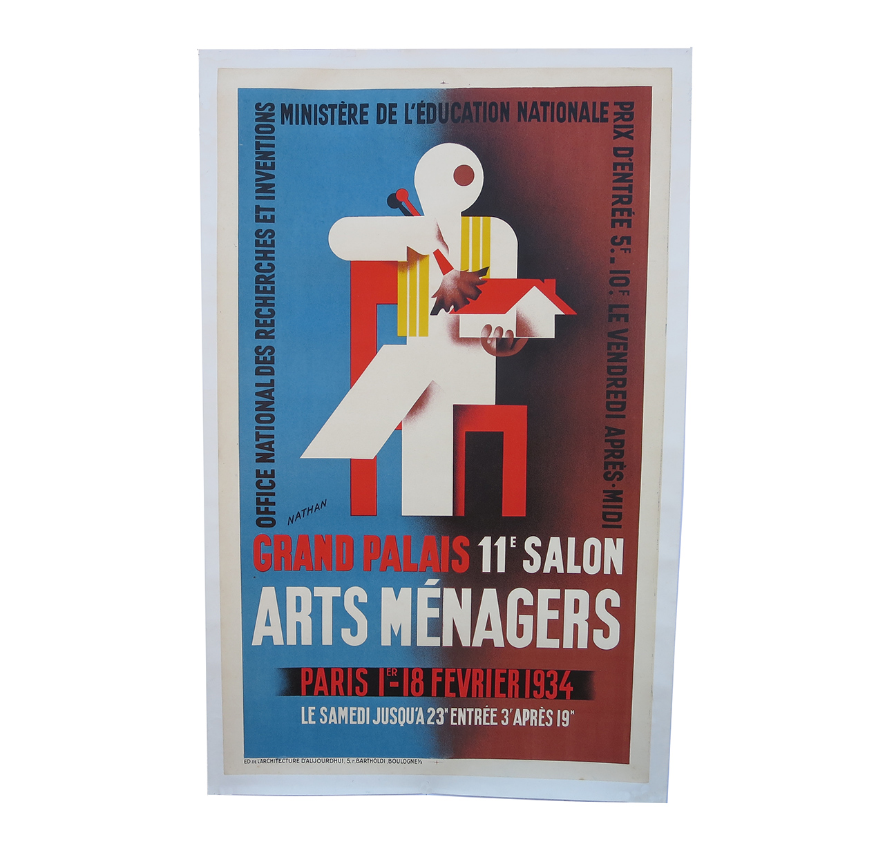Salon Art Et Deco Paris Arts Menagers Poster Art Deco 1934