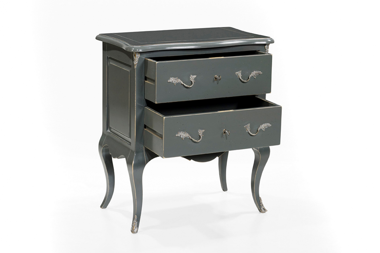 Antique Bedside Tables Bedside Table In Antique Grey Bedside Tables