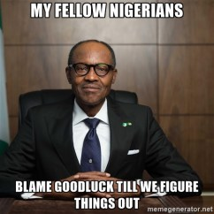 #Buhari Please Lead, Follow or Get The Heck Out of The Way!
