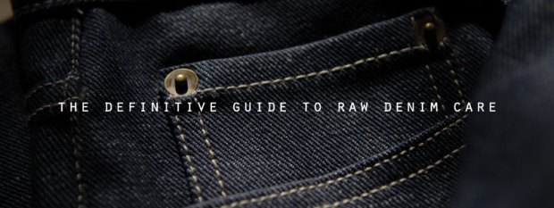 raw denim care