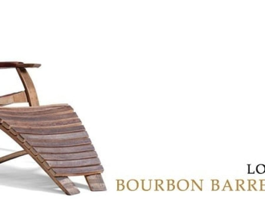 LOUNGE ABOUT IN BOURBON BARREL FURNITURE