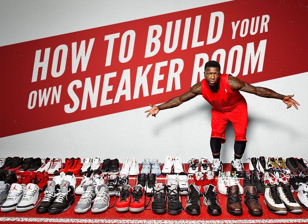 How To Build Your Own Sneaker Room
