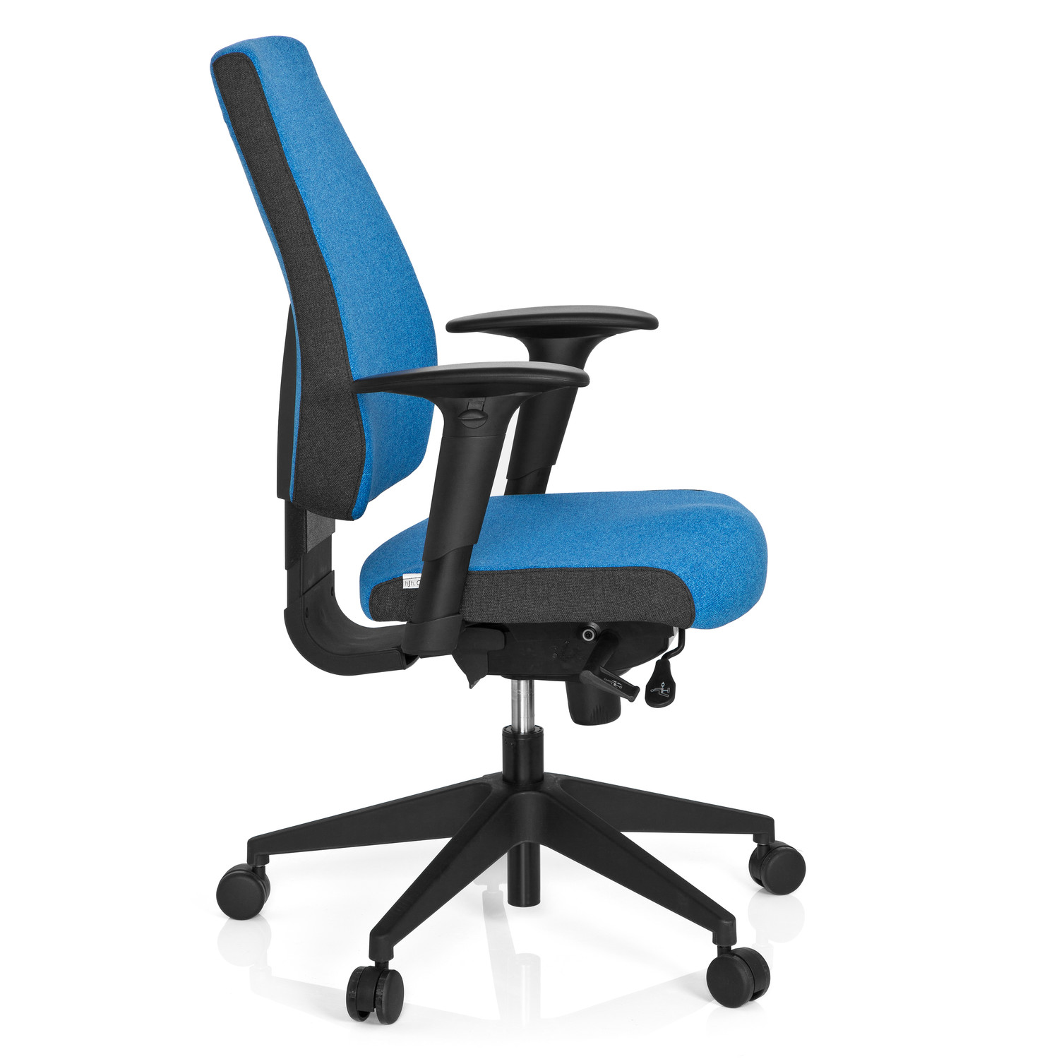 Sillas Ergonomicas Para Pc Silla Oficina Ergonómica Detroit Homologada Para 8 H 100 Regulable Color Azul