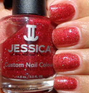 Jessica Hot Hot Hot Swatch Glamarama
