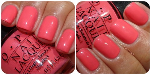 OPI Suzi's Hungary Again! Swatch