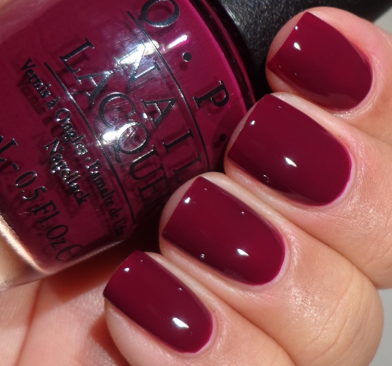 Deep Wine Nail Polish: OPI San Francisco Collection