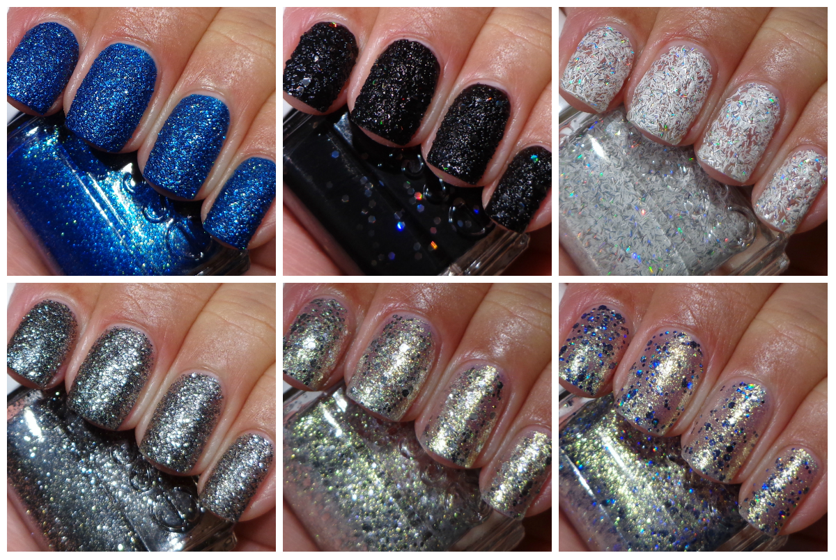 Essie Encrusted Treasures Collection - Holiday 2013