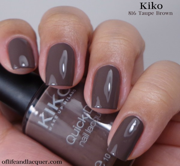 Kiko 816 Taupe Brown 1a