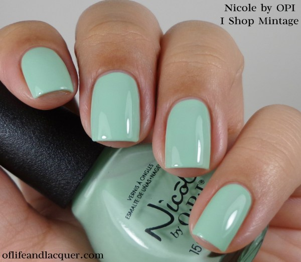 Nicole by OPI I Shop Mintage 1a