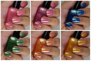 Zoya Bubbly Collection Summer 2014