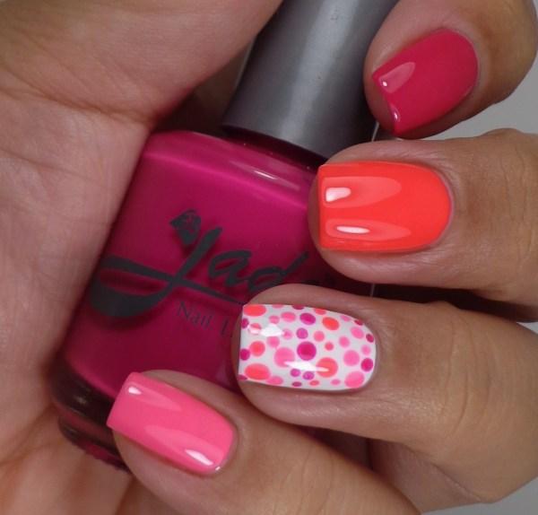 Jade Neon Manicure 2