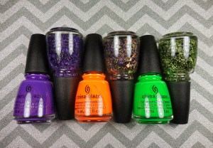 China Glaze Ghouls Night Out Collection Halloween 2015