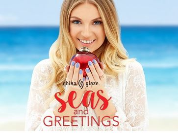 China Glaze Seas and Greetings Collection Holiday 2016