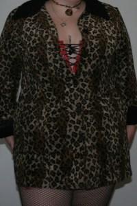 HNT Fabulous Leopard Coat