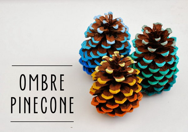 17 christmas pinecone crafts and ornaments